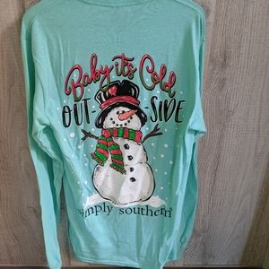 Simply Southern Baby it's cold outside long sleeve